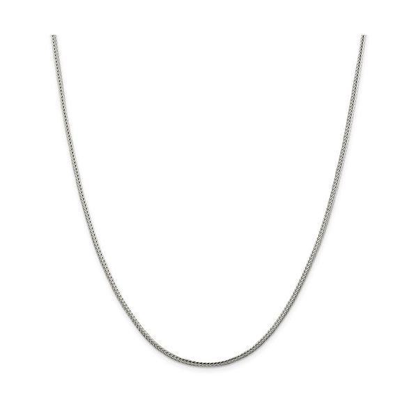 Sterling Silver Solid Franco Chain, 30