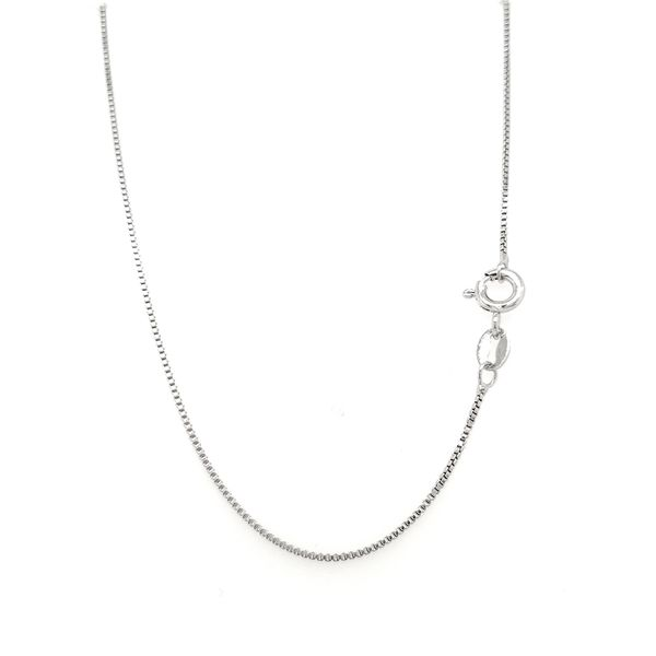 Sterling Silver Box Chain, 20