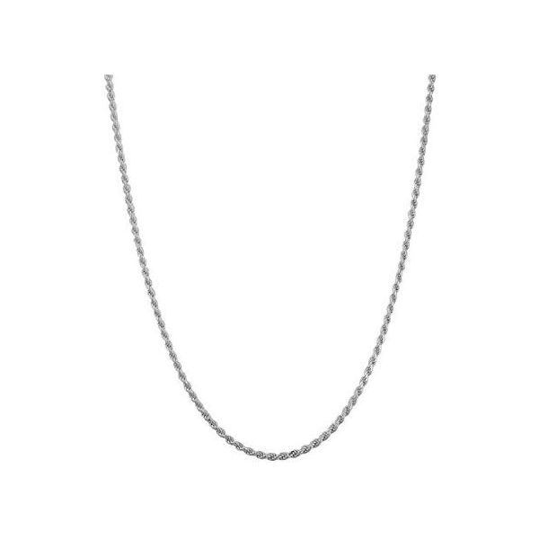 Sterling Silver Diamond Cut Rope Chain Arezzo Jewelers Chicago, IL