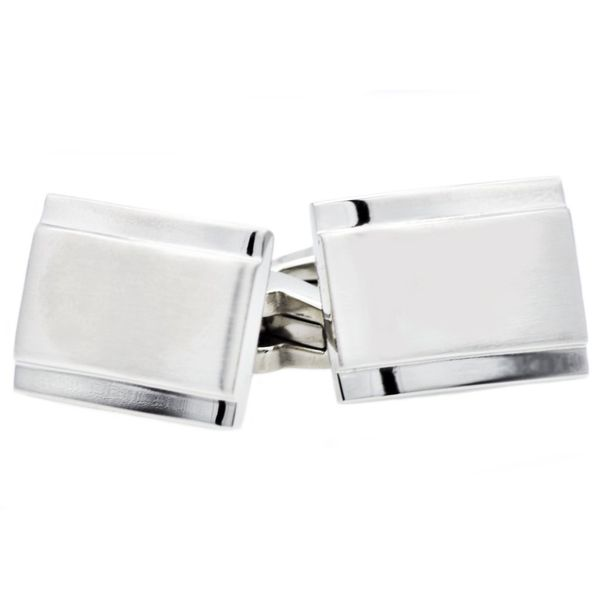 Stainless Steel Cuff Links Arezzo Jewelers Chicago, IL