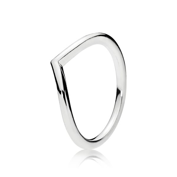 Polished Wishbone Ring Arezzo Jewelers Chicago, IL