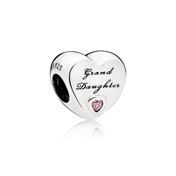 Granddaughter's Love Charm, Pink CZ Arezzo Jewelers Chicago, IL