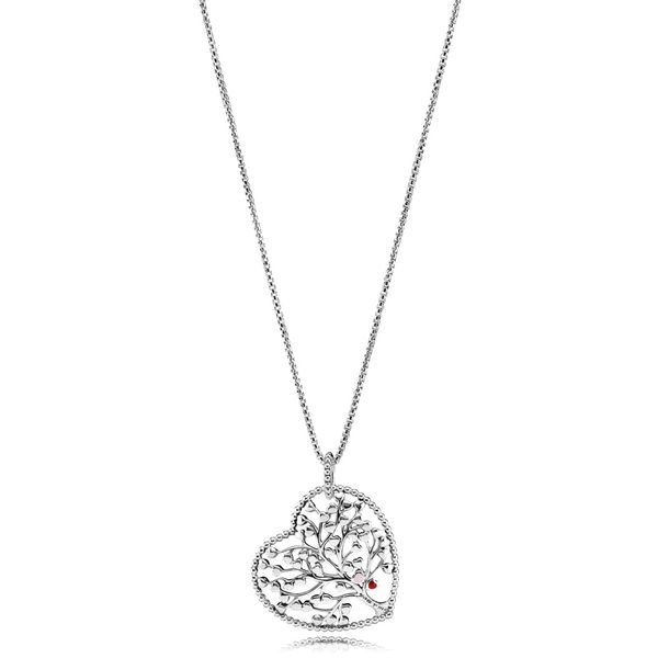 Family Tree Heart Necklace Arezzo Jewelers Chicago, IL