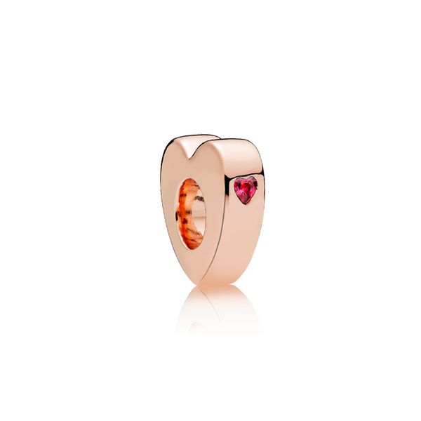 Rose Spacer Heart Arezzo Jewelers Chicago, IL