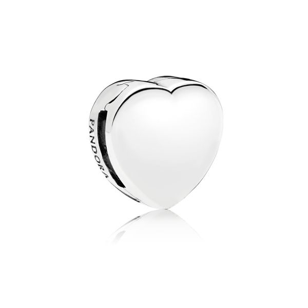 Simple Heart Clip Charm Arezzo Jewelers Chicago, IL