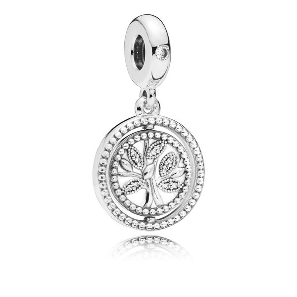 Spinning Pandora Tree of Life Dangle Charm Arezzo Jewelers Chicago, IL