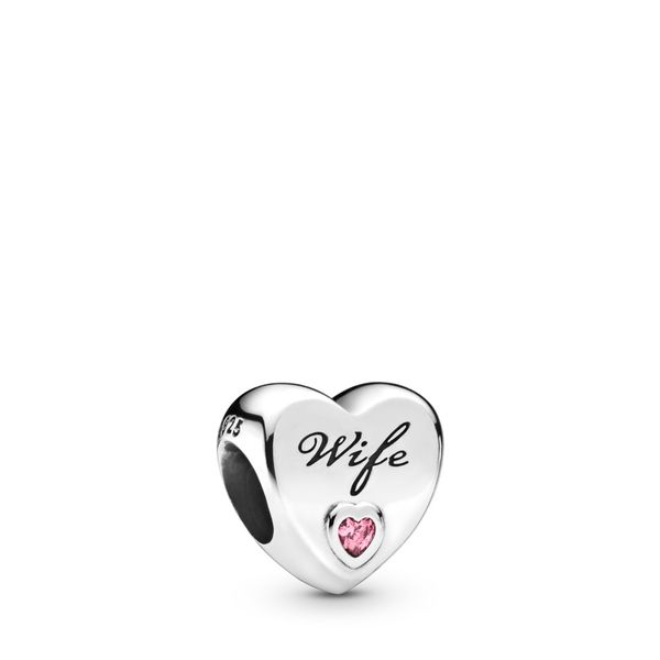 Wife Love Heart Charm Arezzo Jewelers Chicago, IL