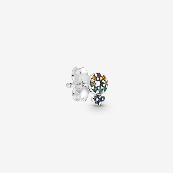 Pandora Me - My Girl Pride Single Stud Earring Arezzo Jewelers Chicago, IL