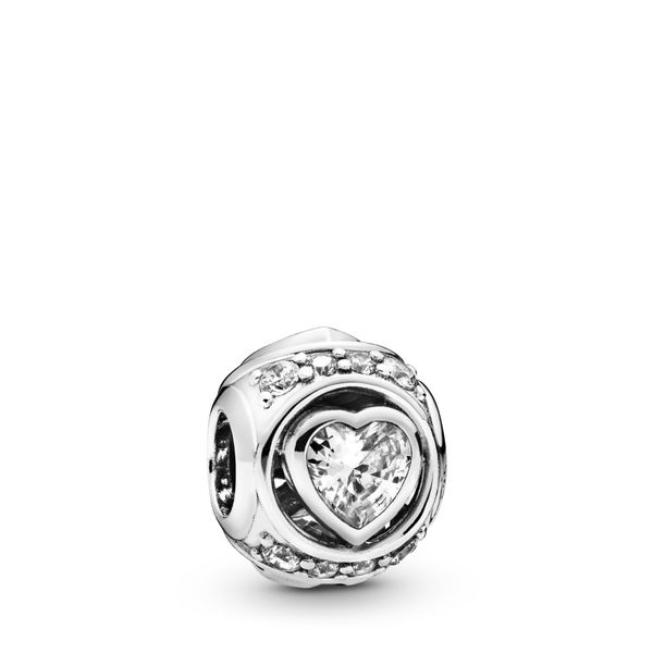 Elevated Heart Charm Arezzo Jewelers Chicago, IL