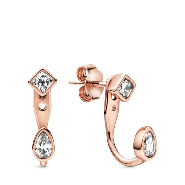 Geometric Shapes Stud Earrings Arezzo Jewelers Chicago, IL