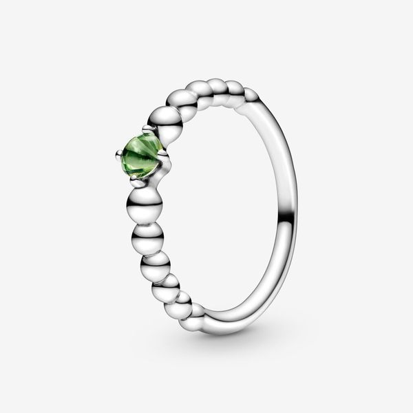 Spring Green Beaded Ring Arezzo Jewelers Chicago, IL