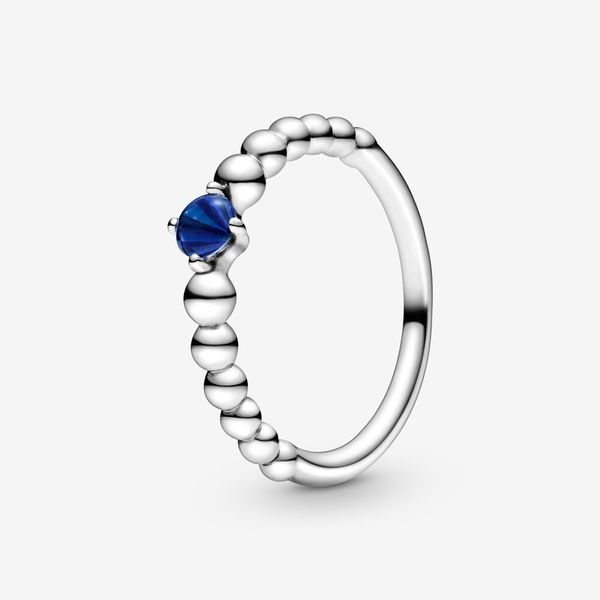 Sea Blue Beaded Ring Arezzo Jewelers Chicago, IL