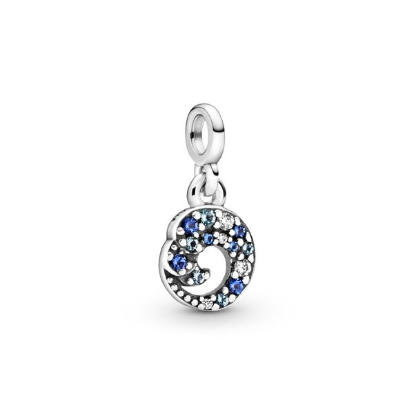 My Blue Ocean Wave Dangle Charm Arezzo Jewelers Chicago, IL