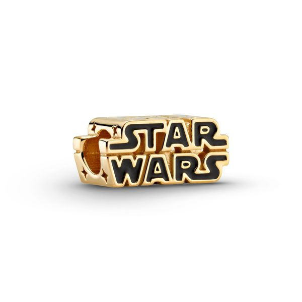Star Wars Shining 3D Logo Charm Arezzo Jewelers Chicago, IL