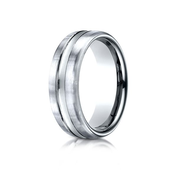 Benchmark Wedding Band Arezzo Jewelers Chicago, IL