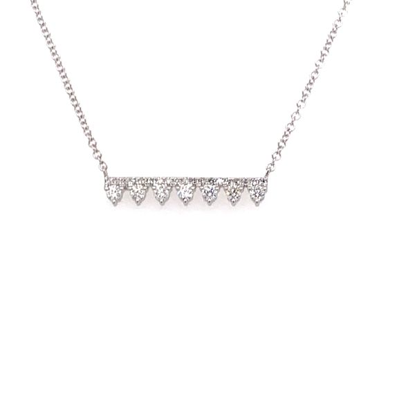 Diamond Bar Necklace Armentor Jewelers New Iberia, LA