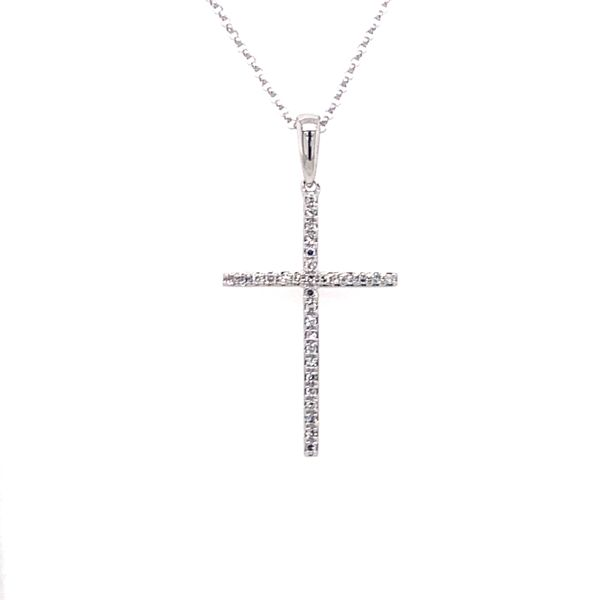 Diamond Cross Necklace Armentor Jewelers New Iberia, LA