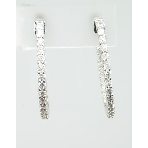 Diamond Fashion Earrings Barnes Jewelers Goldsboro, NC