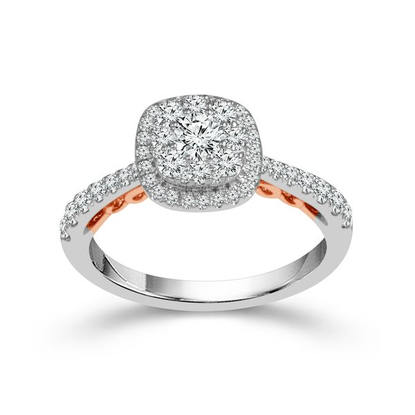 10KW/R 0.75tw Diamond Engagement Ring Barthau Jewellers Stouffville, ON