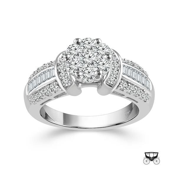 14KW 1.25tw Diamond Engagement Ring Image 2 Barthau Jewellers Stouffville, ON