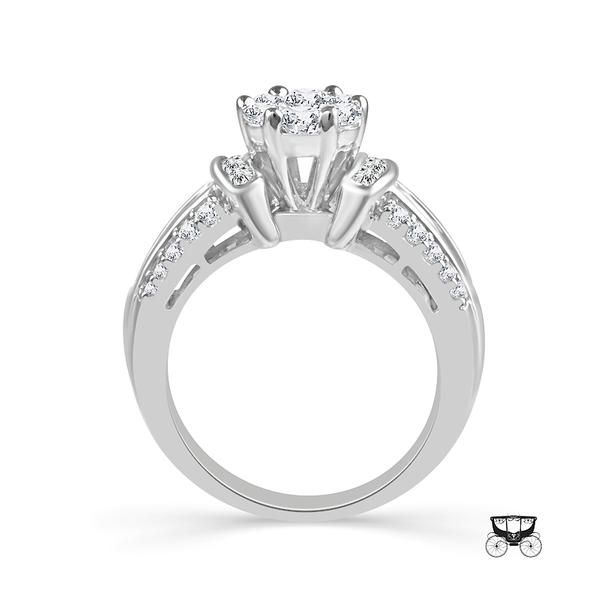 14KW 1.25tw Diamond Engagement Ring Image 3 Barthau Jewellers Stouffville, ON