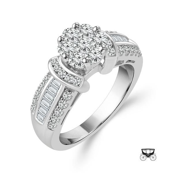 14KW 1.25tw Diamond Engagement Ring Barthau Jewellers Stouffville, ON