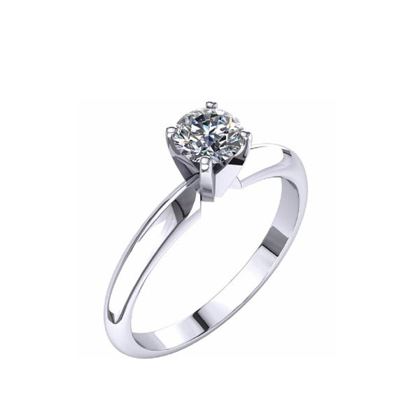 14KW 0.55ct Diamond Engagement Ring Barthau Jewellers Stouffville, ON