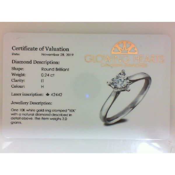 Canadian Diamond Ring Image 2 Barthau Jewellers Stouffville, ON