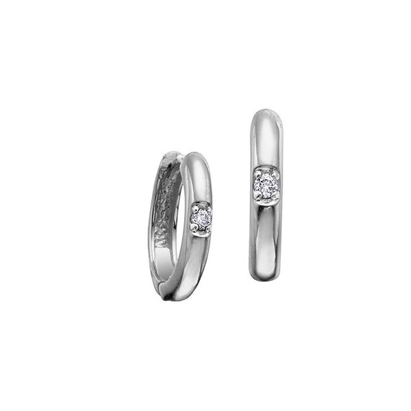 10KW 0.05tw Canadian Diamond Earrings Barthau Jewellers Stouffville, ON