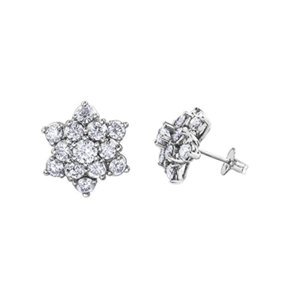 Diamond Earrings Barthau Jewellers Stouffville, ON