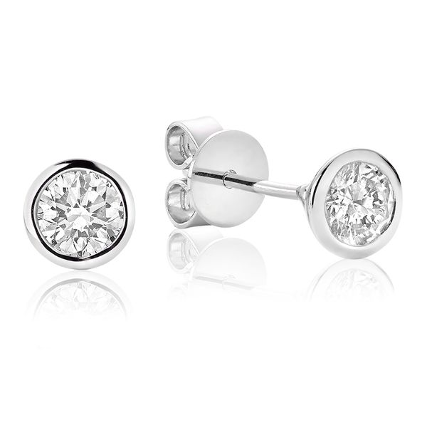 10kw Diamond Stud Earrings Barthau Jewellers Stouffville, ON