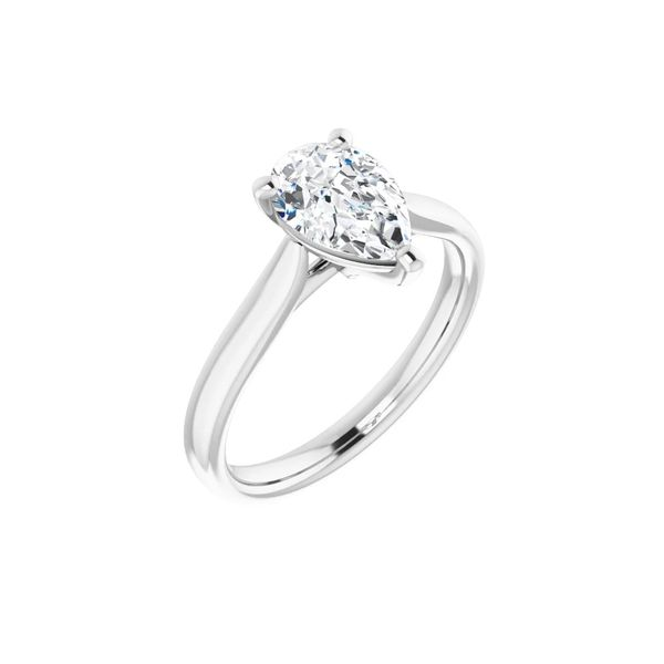 14KW 1.01ct Pear Lab-Grown Diamond Engagement Ring Barthau Jewellers Stouffville, ON