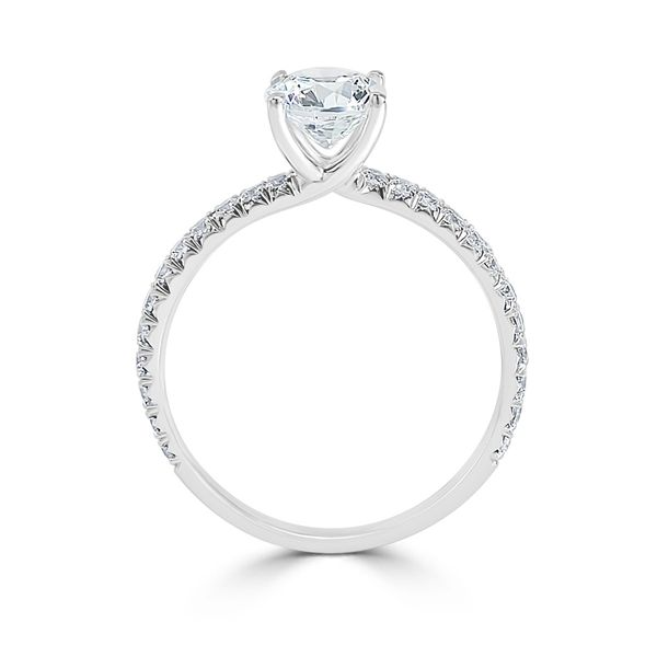 14KW 1.11TW Lab-Grown Diamond Engagement Ring Image 2 Barthau Jewellers Stouffville, ON