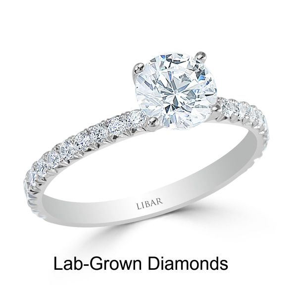 14KW 1.11TW Lab-Grown Diamond Engagement Ring Barthau Jewellers Stouffville, ON
