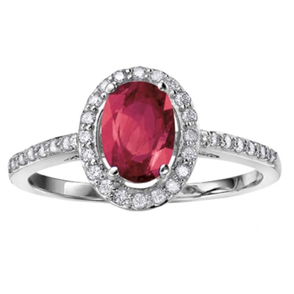 10KW Ruby & Diamond Ring Barthau Jewellers Stouffville, ON