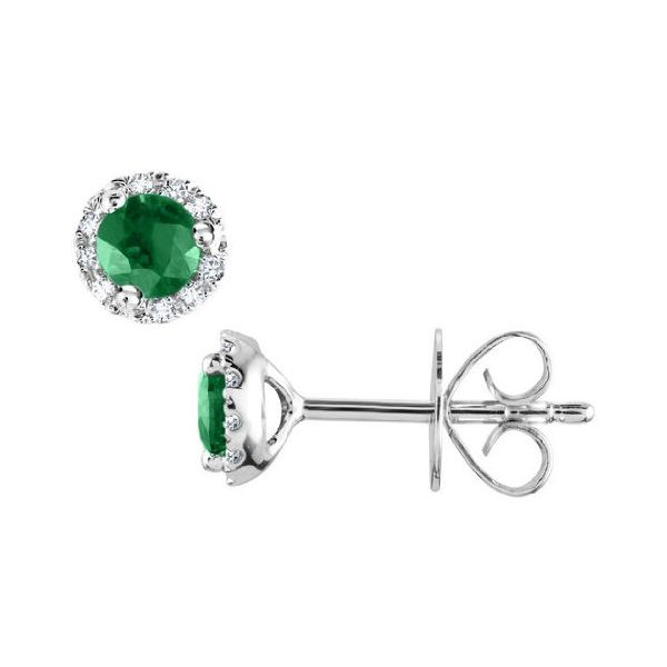 Gemstone Earrings Barthau Jewellers Stouffville, ON