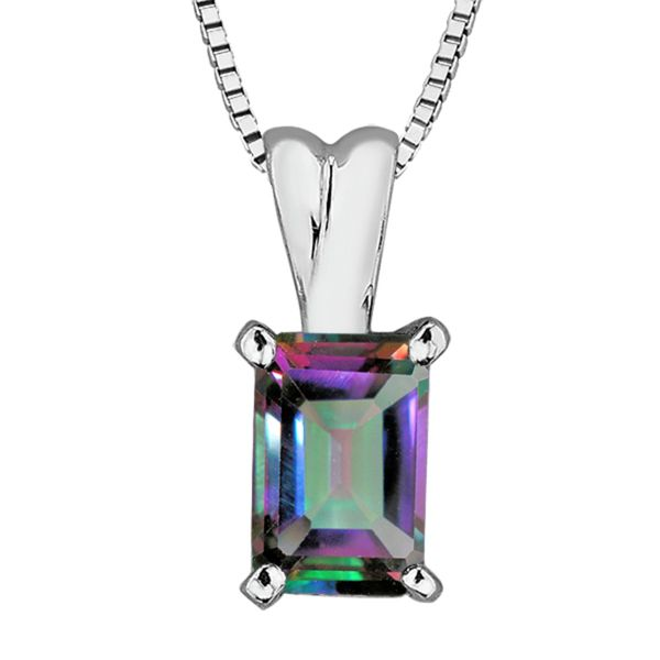 10KW Mystic Topaz Necklace Barthau Jewellers Stouffville, ON