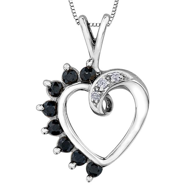10KW Blue Sapphire & Diamond Necklace Barthau Jewellers Stouffville, ON