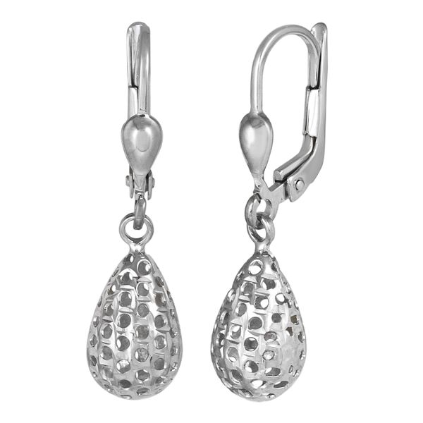 10KW Drop Leverback Earrings Barthau Jewellers Stouffville, ON