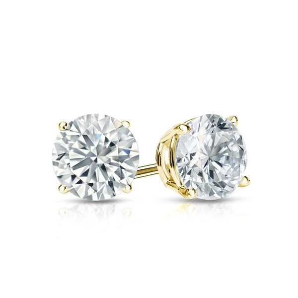 10KY 7MM CZ CLAW EARRING Barthau Jewellers Stouffville, ON