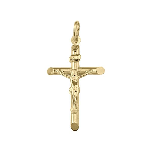 10KY Crucifix Cross Barthau Jewellers Stouffville, ON