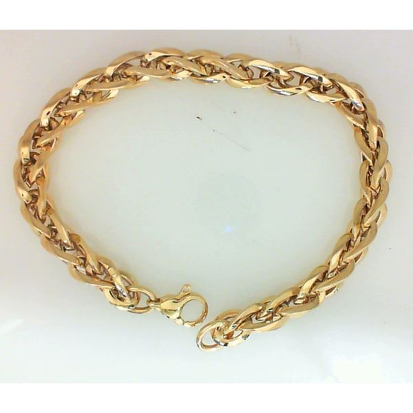 14KY Link Bracelet Barthau Jewellers Stouffville, ON