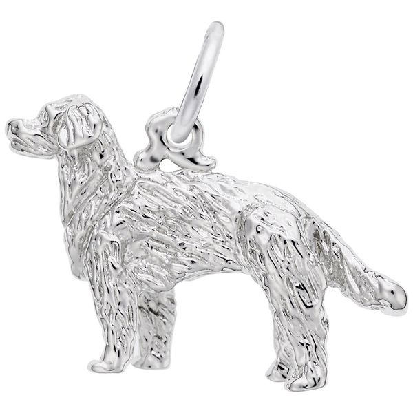 925 Charm Dog Golden Retriever Barthau Jewellers Stouffville, ON