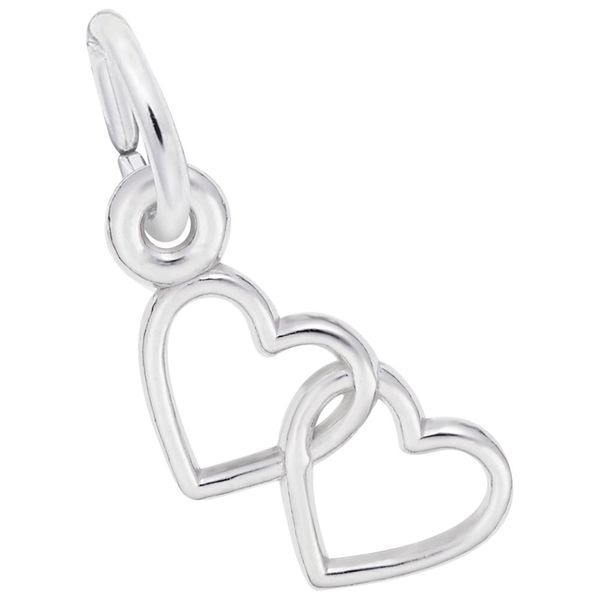 925 Charm Two Hearts Barthau Jewellers Stouffville, ON
