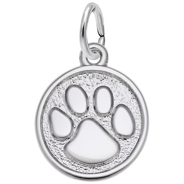 925 Charm Paw Print Sm. Barthau Jewellers Stouffville, ON