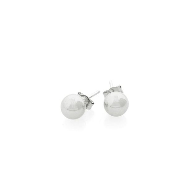 925 8MM Ball Earrings Barthau Jewellers Stouffville, ON