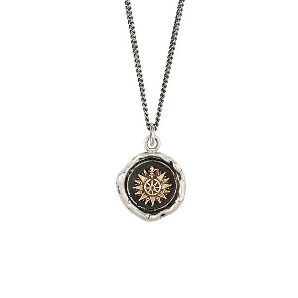 PYRRHA 925/14K Direction 14K Gold On Silver Talisman Barthau Jewellers Stouffville, ON