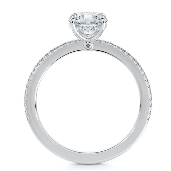 Forevermark Micaela's Simply Solitaire Round Engagement Ring Image 3 Baxter's Fine Jewelry Warwick, RI