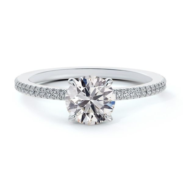 Forevermark Micaela's Simply Solitaire Round Engagement Ring Baxter's Fine Jewelry Warwick, RI