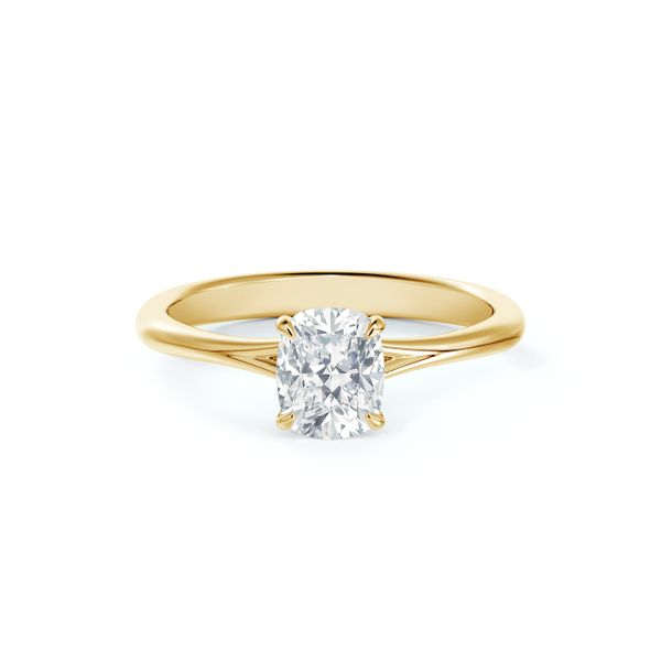 Forevermark Icon™ Setting Cushion Engagement Ring Baxter's Fine Jewelry Warwick, RI